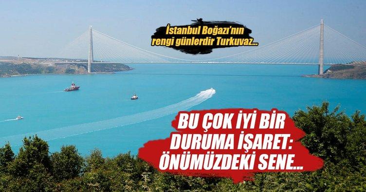 İstanbul Boğazı'nda yine O  oldu