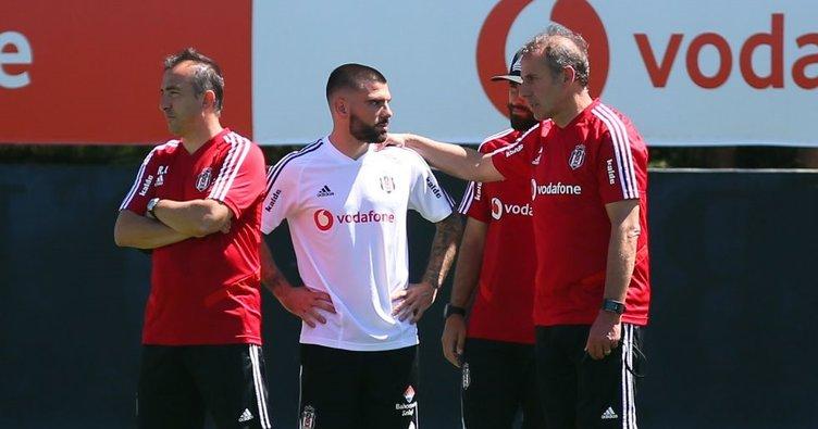 Beşiktaş'ta Rebocho mesaiye başladı