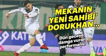 Beşiktaşlı taraftarları çıldırtan performans: Dorukhan Toköz