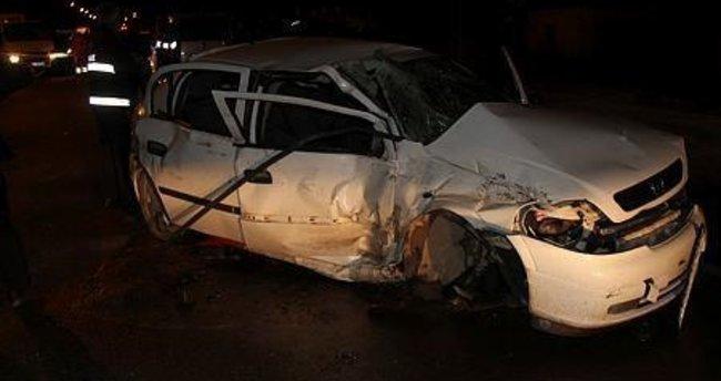 Kars'ta zincirleme kaza: 1 ölü, 14 yaralı