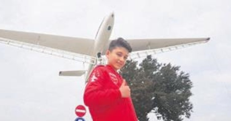 Altındağlı Muhammed'in pilot hayali gerçek oldu