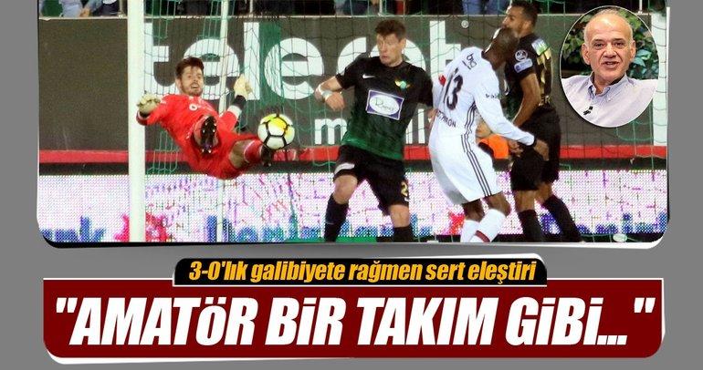 Ahmet Çakar: Hakemlere iş düşmedi