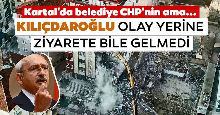 Kılıçdaroğlu Kartal'a gitmedi