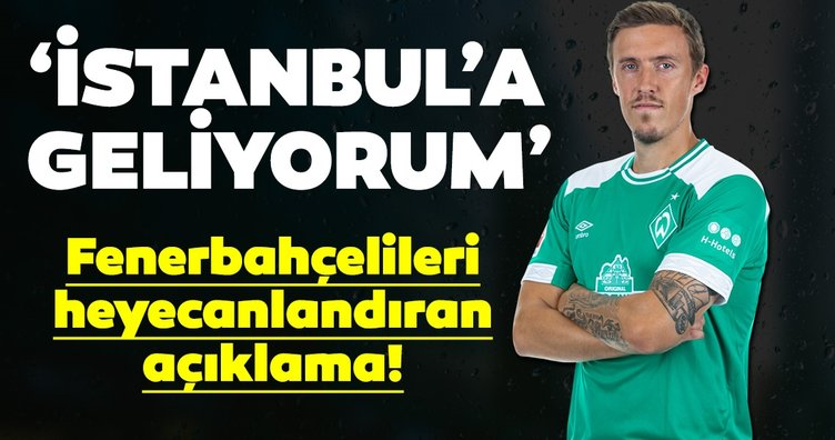 Fenerbahçe transfer haberleri: Max Kruse'den Fenerbahçe açıklaması