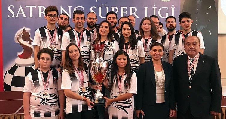 Beşiktaş satrançta Türkiye şampiyonu!