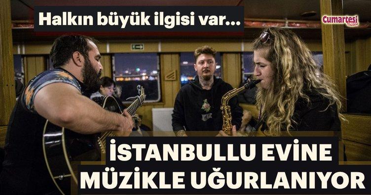 İstanbullu evine müzikle uğurlanıyor