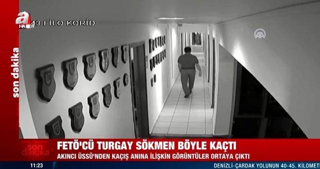 Son dakika: FETÖ'cü Turgay Sökmen böyle kaçtı! Görüntüler ortaya çıktı