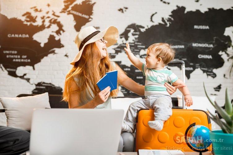 Bebekle tatilin püf noktaları!