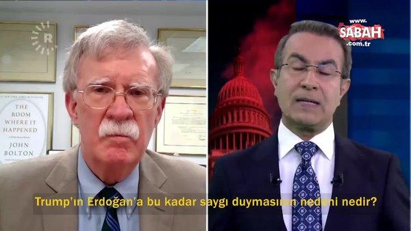 ABD eski Ulusal Güvenlik Danışmanı John Bolton flaş itiraf: