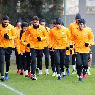 Galatasaray, ikinci yarı hazırlıklarına devam etti