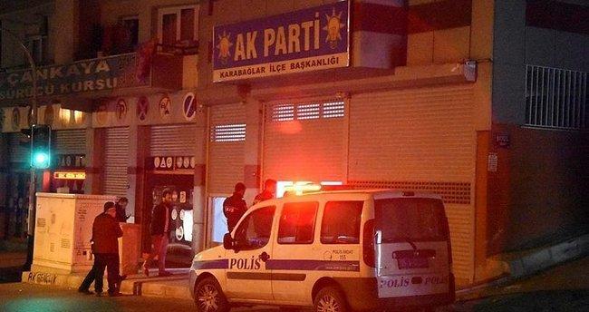 AK Parti ilçe binasına silahlı saldırı