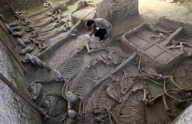 Diri diri gömülmüşler