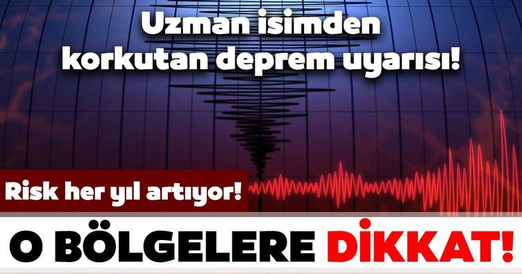 Son dakika haberi: Uzman isimden deprem uyarısı: Risk her yıl artıyor! O bölgelere dikkat! 7 ve üzerinde deprem...