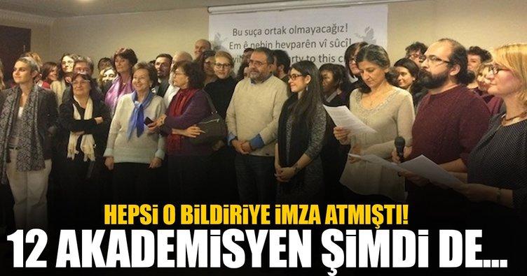 12 akademisyen açığa alındı
