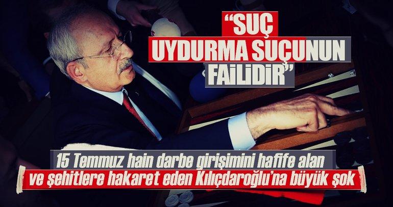 Kılıçdaroğlu'na suç duyurusu