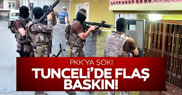 Tunceli'de PKK operasyonu: 7 gözaltı