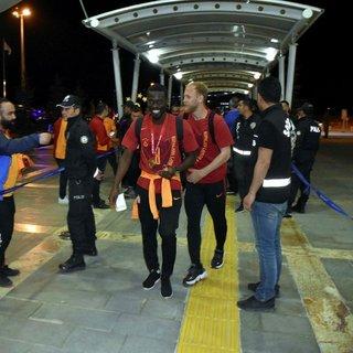 Galatasaray, Sivas'tan ayrıldı