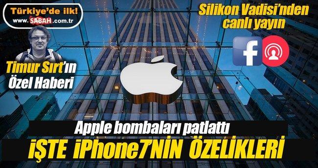 iPhone7 tanıtıldı