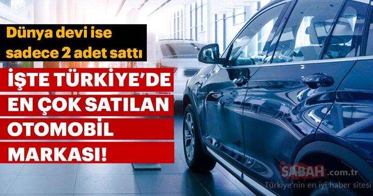 Türkiye'de en çok otomobil satan markalar (Ocak - Ağustos 2018)