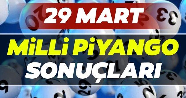Milli Piyango sonuçları açıklandı! İşte 29 Mart Milli Piyango sonuçları, hızlı bilet sorgulama ekranı ve SIRALI TAM LİSTE…