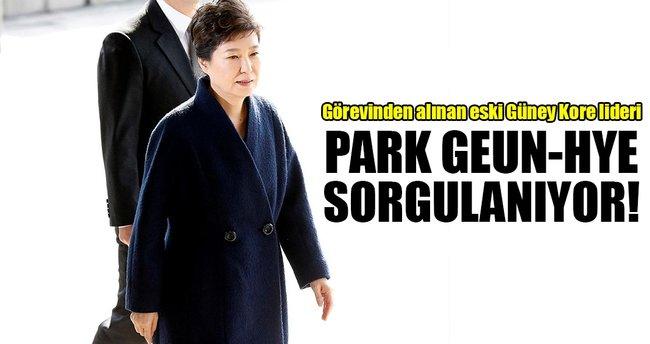 Güney Kore'de Park sorgulanıyor