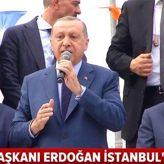 Cumhurbaşkanı Erdoğan: Terör kuşağını paramparça ettik