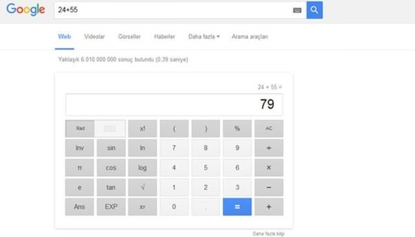 Google'ın her şeyi bildiğini biliyor musunuz?