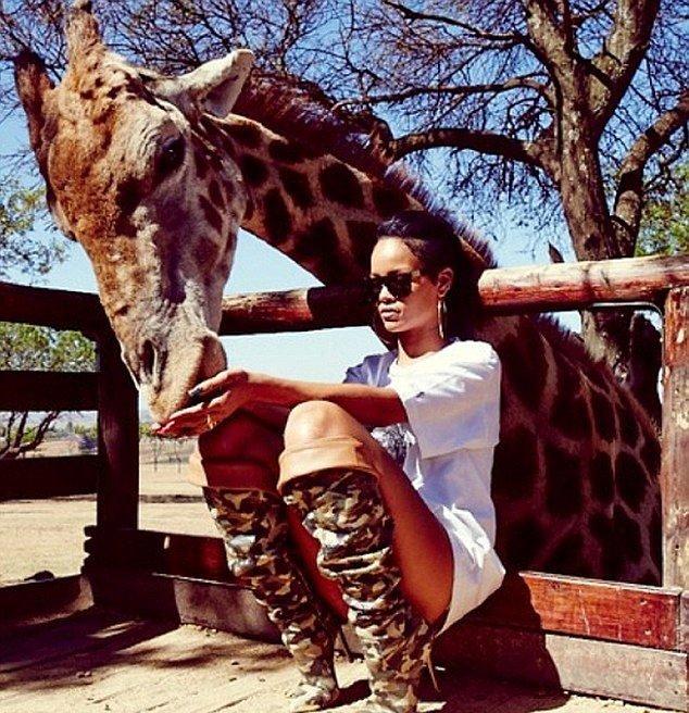 'Kıyafeti vahşi hayvanlar için uygun değil'