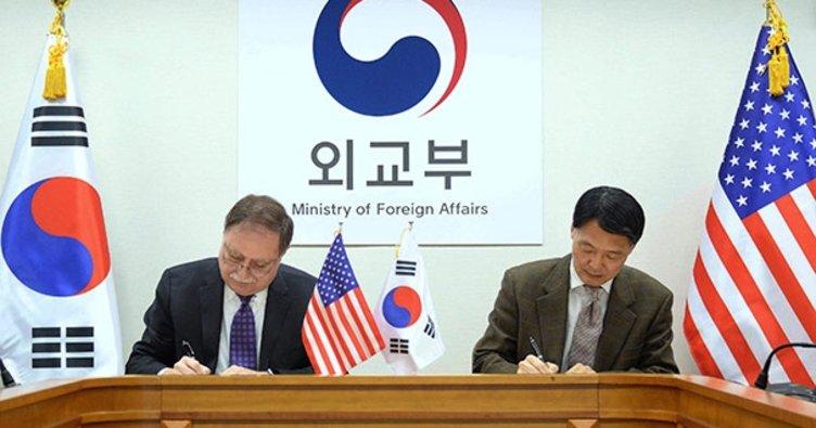 Güney Kore'deki ABD askerleri için anlaşma sağlandı