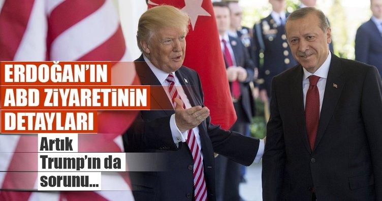 Erdoğan'ın ABD ziyaretinin detayları