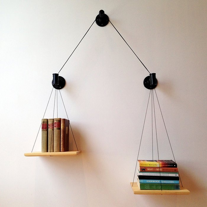 Birbirinden güzel kitaplıklar