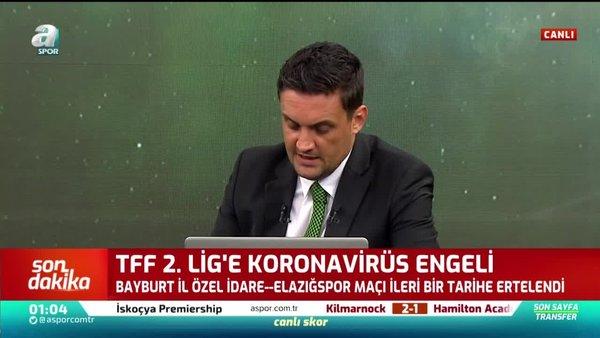 TFF 2. Lig'e corona virüsü engeli!