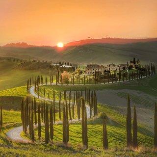 İtalya'nın ortasında yeşil şölen