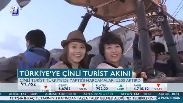 Türkiye'ye Çinli turist akını!