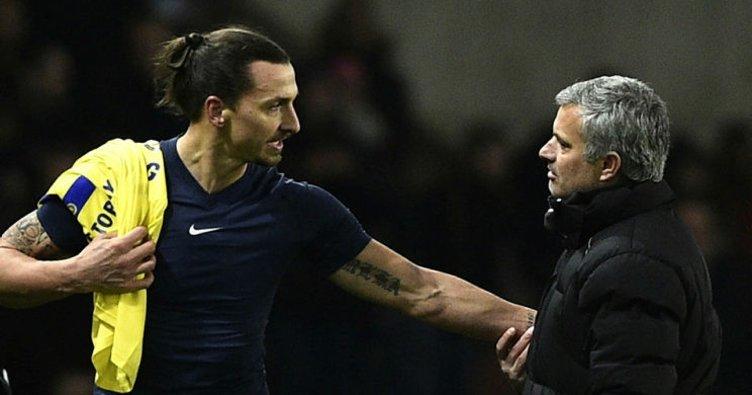 Mourinho'dan Ibrahimovic'e yeşil ışık