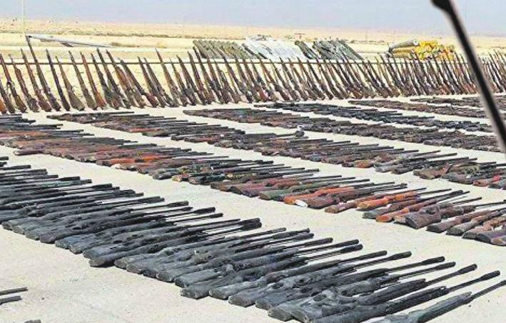 DEAŞ'ın silahları bakın hangi ülkelerden!