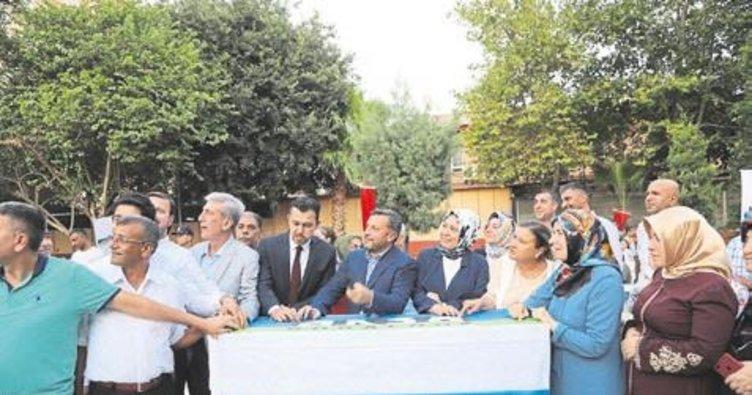 Dadaloğlu'nda bin 700 aile doğalgaza kavuşuyor