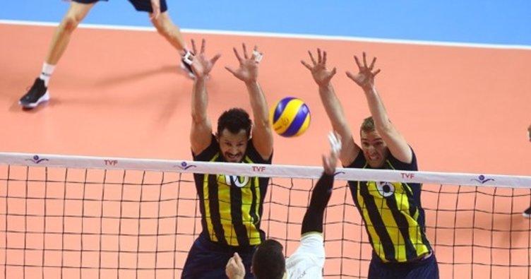 Fenerbahçe açılış maçında set vermedi