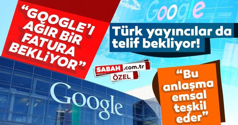 Fransız basını ile Google telif ödemesi için anlaştı: Emsal teşkil ediyor! Google'ı ağır bir fatura bekliyor...