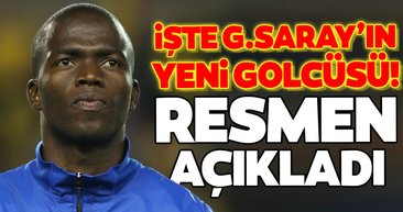 İşte Galatasaray'ın yeni golcüsü! Resmen açıkladı