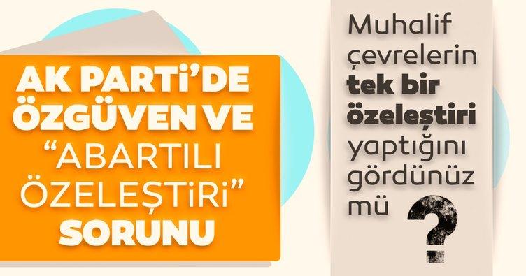 """AK Parti'de özgüven ve """"Abartılı özeleştiri"""" sorunu"""
