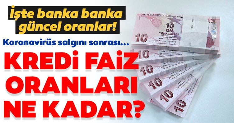 Son dakika haberi: Kredi faiz oranları ne kadar? Ziraat, Halkbank, Garanti ihtiyaç - taşıt - konut kredisi faiz oranları listesi...