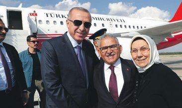 Recep Tayyip Erdoğan Millet Bahçesi'nde hummalı çalışma