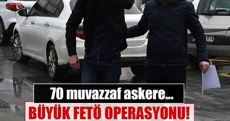 Büyük FETÖ operasyonu