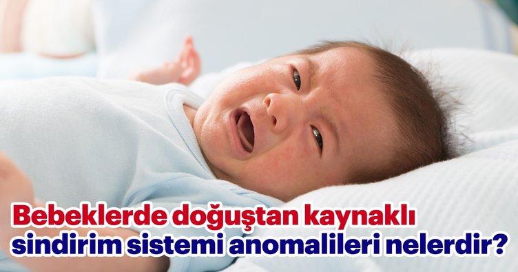 Bebeklerde doğuştan kaynaklı sindirim sistemi anomalileri nelerdir?