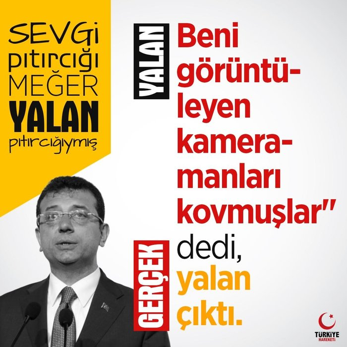 CHP adayı Ekrem İmamoğlu'nun yalanları Twitter'da gündem oldu