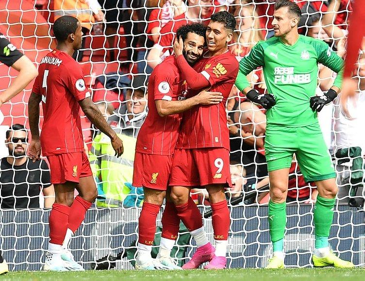 İngiltere'de Liverpool şov devam ediyor