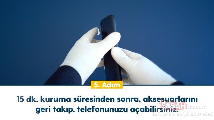 Telefonları hijyenik tutma rehberi! Corona virüsüne karşı telefonlarınızı 5 adımda dezenfekte edin!