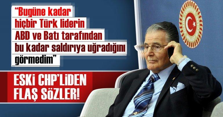 Eski CHP milletvekili Şükrü Elekdağ'dan flaş sözler!