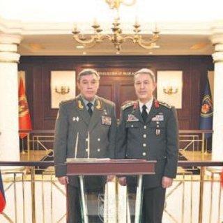 Orgeneral Akar, Rus mevkidaşını ağırladı